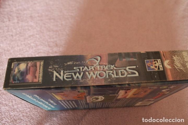 Videojuegos y Consolas: STAR TREK NEW WORLDS PC BOX CAJA CARTON - Foto 6 - 103878455