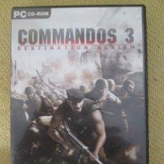 Videojuegos y Consolas: JUEGO PC - COMMANDOS 3 DESTINATION BERLIN COMANDOS - EDICION ESPAÑOLA - . Lote 122297407