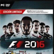 Videojuegos y Consolas: F1 2016 ED. LIMITADA NUEVO, SIN ESTRENAR, COMPRADO 5/12/17. Lote 122574795