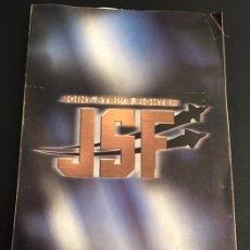 Videojuegos y Consolas: MANUAL DE INSTRUCCIONES DEL JUEGO DE ORDENADOR PC JOINT STRIKE FIGHTER JSF - EIDOS. Lote 122670007