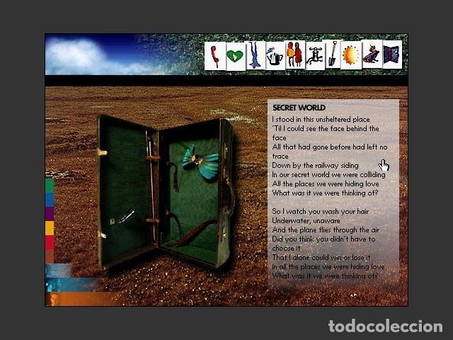 Videojuegos y Consolas: Peter Gabriel Xplora 1 / Juego PC Ordenador - Foto 2 - 122822567