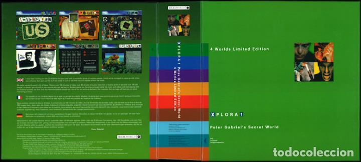 Videojuegos y Consolas: Peter Gabriel Xplora 1 / Juego PC Ordenador - Foto 4 - 122822567