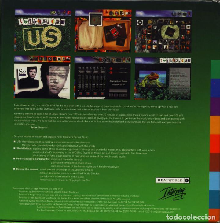 Videojuegos y Consolas: Peter Gabriel Xplora 1 / Juego PC Ordenador - Foto 5 - 122822567