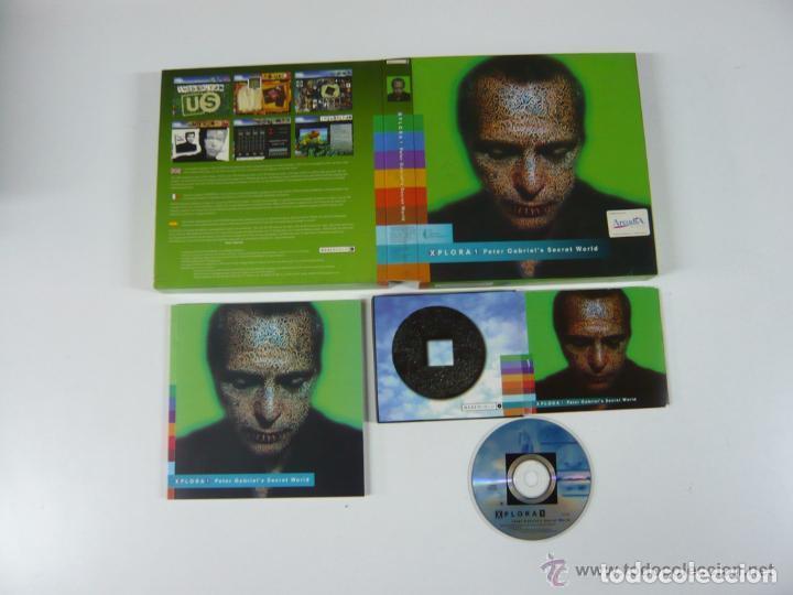 Videojuegos y Consolas: Peter Gabriel Xplora 1 / Juego PC Ordenador - Foto 6 - 122822567