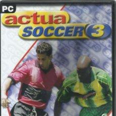 Videojuegos y Consolas: ACTUA SOCCER 3. Lote 122947683