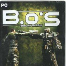 Videojuegos y Consolas: BET ON SOLDIER. Lote 122948363