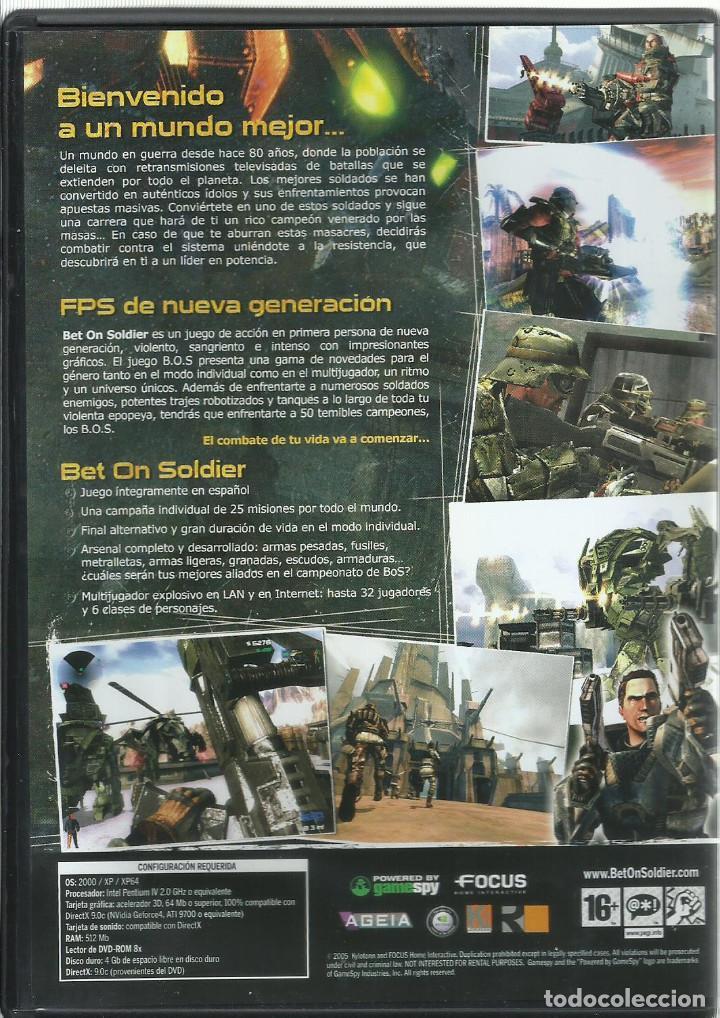 Videojuegos y Consolas: Bet on Soldier - Foto 2 - 122948363
