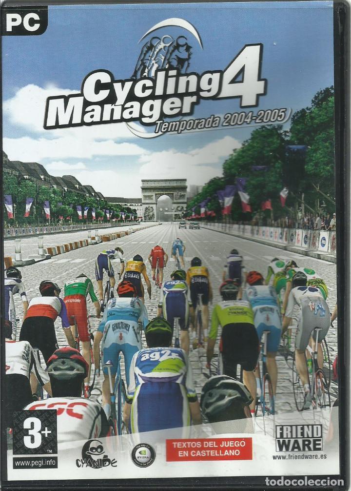 CYCLING MANAGER 4: TEMPORADA 04-05 (Juguetes - Videojuegos y Consolas - PC)