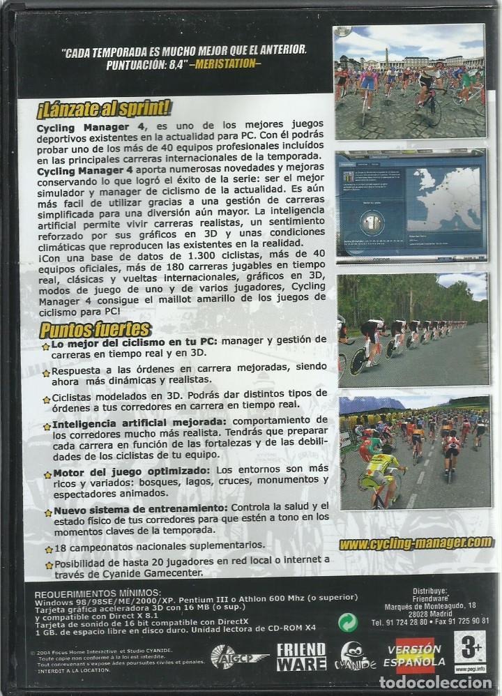 Videojuegos y Consolas: Cycling Manager 4: Temporada 04-05 - Foto 2 - 122949975