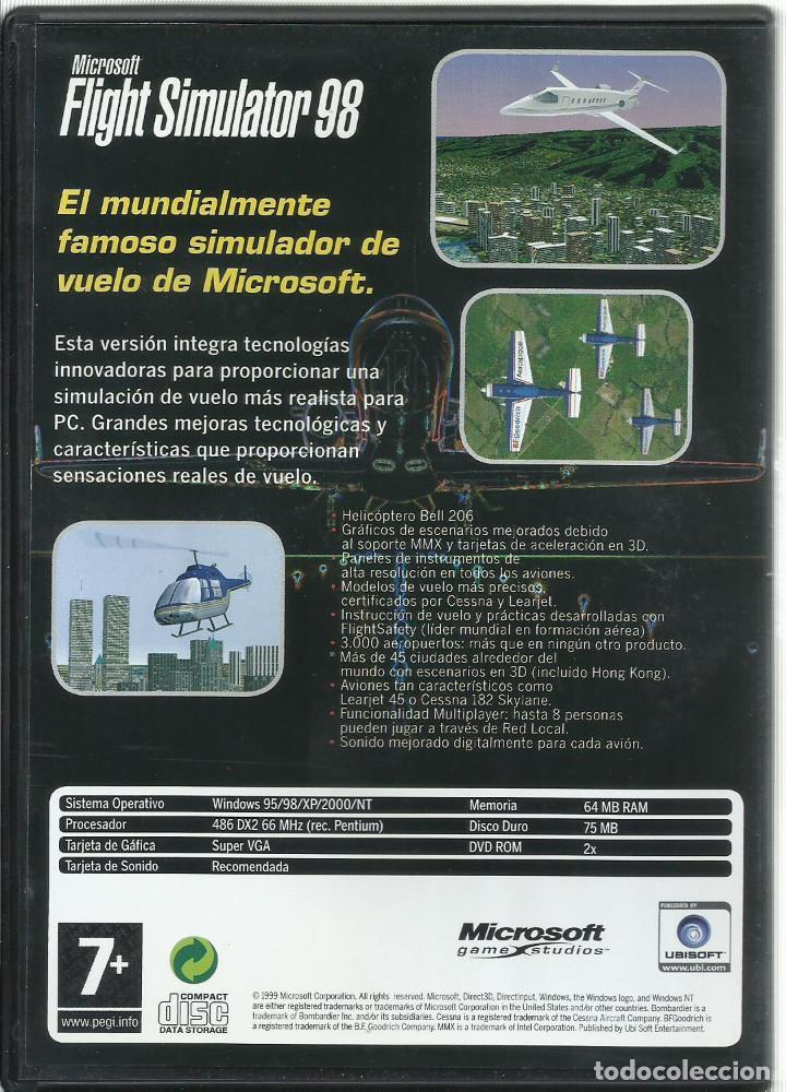 Videojuegos y Consolas: Flight Simulator 98 - Foto 2 - 122951355
