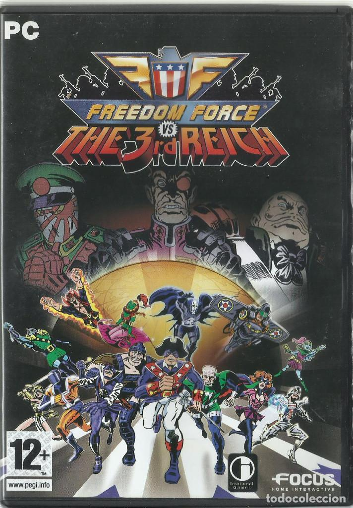 FREEDOM FORCE VS THE 3RD REICH (Juguetes - Videojuegos y Consolas - PC)