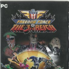 Videojuegos y Consolas: FREEDOM FORCE VS THE 3RD REICH. Lote 122951519