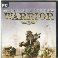 Videojuegos y Consolas: FULL SPECTRUM WARRIOR. Lote 122951687