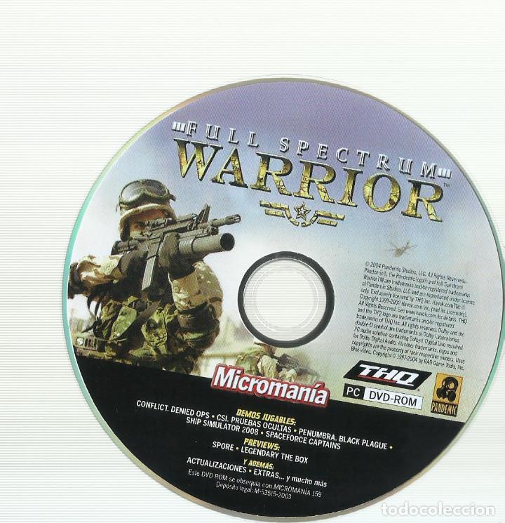 Videojuegos y Consolas: Full Spectrum Warrior - Foto 3 - 122951687