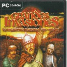 Videojuegos y Consolas: LAS GRANDES INVASIONES. LAS INVASIONES BÁRBARAS 350-1066 DC (JUEGO EN INGLES, MANUAL EN CASTELLANO). Lote 122952283