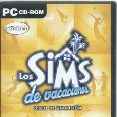 Videojuegos y Consolas: LOS SINS: DE VACACIONES. Lote 122952459