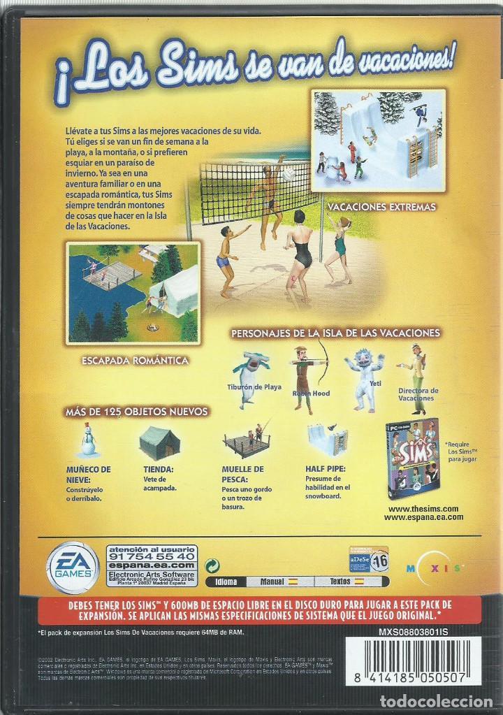 Videojuegos y Consolas: Los Sins: De Vacaciones - Foto 2 - 122952459
