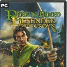 Videojuegos y Consolas: ROBIN HOOD: DEFENDER OF THE CROWN. Lote 122956339