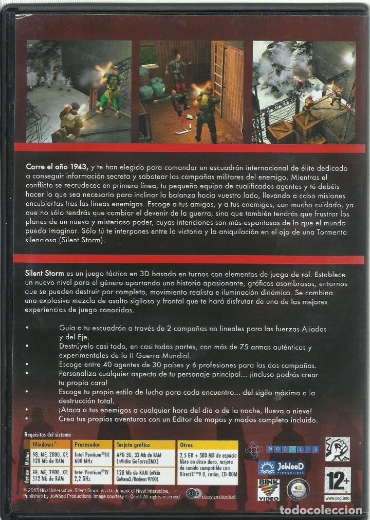 Videojuegos y Consolas: Silent Storm - Foto 2 - 122956559