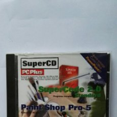 Videojuegos y Consolas: SUPER CD PC PLUS PAINT SHOP PRO 5 THE GOLF PRO. Lote 122971940