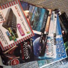 Videojuegos y Consolas: 25 CARATULAS ORIGINALES DISTINTAS JUEGOS PC CD RON DVD . TODAS PERTENECIENTE A VIDEOCLUB HAY MAS. Lote 123382539