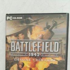 Videojuegos y Consolas: BATTLEFIELD 1942 DELUXE EDITION PC SEGUNDA GUERRA MUNDIAL. Lote 124009844