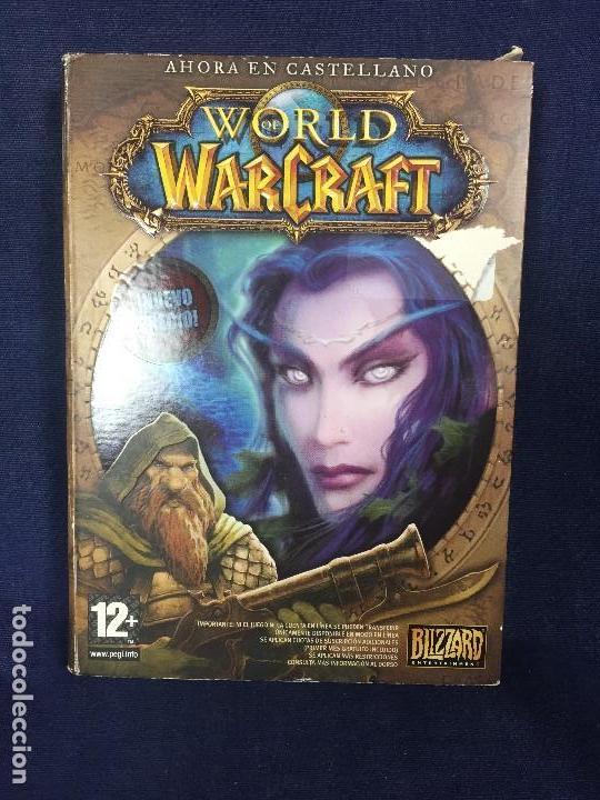 JUEGO ROL ESTRATEGIA WORLD WARCRAFT BLIZZARD DVD ROM 2 CD + INSTRUCCIONES EN CASTELLANO SIN PROBAR (Juguetes - Videojuegos y Consolas - PC)