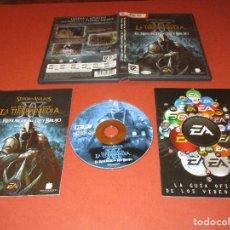 Videojuegos y Consolas: EL SEÑOR DE LOS ANILLOS ( LA BATALLA POR LA TIERRA MEDIA - EL RESURGIR DEL REY BRUJO ) - PC DVD ROM. Lote 176723017