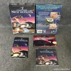 Videojuegos y Consolas: STAR TREK NEW WORLDS PC. Lote 124415719