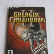 Videojuegos y Consolas: GALACTIC CIVILIZATIONS II JUEGO PARA PC. Lote 124495707