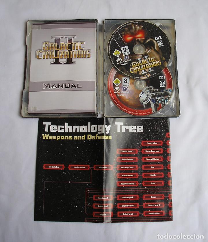 Videojuegos y Consolas: GALACTIC CIVILIZATIONS II JUEGO PARA PC - Foto 2 - 124495707