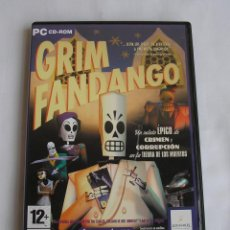 Videojuegos y Consolas: JUEGO PARA PC GRIM FANDANGO. Lote 124496159