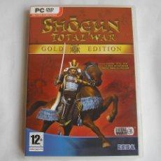 Videojuegos y Consolas: JUEGO ORIGINAL PC SHOGUN TOTAL WAR GOLD EDITION. Lote 124496343