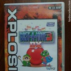 Videojuegos y Consolas: BUST A MOVE 3 - XPLOSIV - PC CD-ROM - TAITO - BUBBLE BOBBLE. Lote 62455344