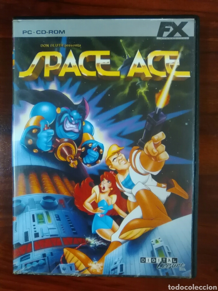 SPACE ACE - PC CD-ROM - FX INTERACTIVE - CLÁSICO