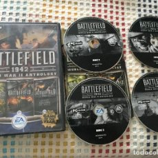 Videojuegos y Consolas: BATTLEFIELD 1942 WORLD WAR II ANTHOLOGY GOTY 2002 KREATEN PC CD ROM CASTELLANO COMPLETE EDITION. Lote 125099791