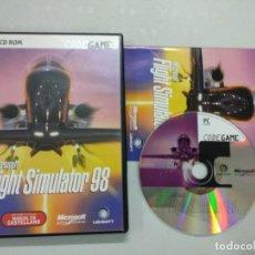 Videogiochi e Consoli: MICROSOFT FLIGHT SIMULATOR 98 - PC - SIMULADOR AVIONES. Lote 125702339