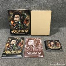 Videojuegos y Consolas: ARCANUM PC. Lote 125921264