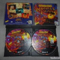 Videojuegos y Consolas: PC THE CURSE OF MONKEY ISLAND PAL ESP (PRIMERA EDICIÓN). Lote 126170183