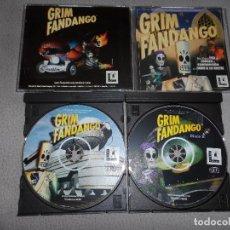 Videojuegos y Consolas: PC GRIM FANDANGO PAL ESP COMPLETO (PRIMERA EDICIÓN). Lote 126262623