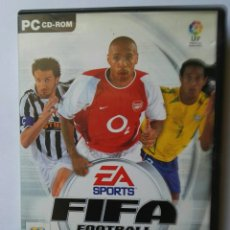 Videojuegos y Consolas: FIFA FOOTBALL 2004 PC EA SPORTS. Lote 126478259