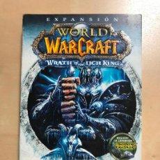 Videojuegos y Consolas: JUEGO ROL ESTRATEGIA WORLD WARCRAFT WRATH OF THE LICH KING 1 DVD CON INSTRUCCIONES CASTELLANO. Lote 126802207