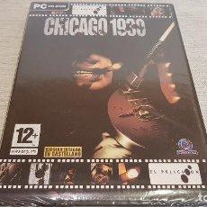 Videojuegos y Consolas: CHICAGO 1930 - LA LEY SECA / JUEGO PC-CD ROM / PRECINTADO SIN ABRIR.. Lote 126805531