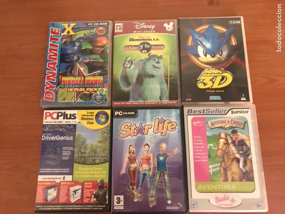 Lote De Juegos Pc Comprar Videojuegos Pc En Todocoleccion 127112948