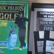 Videojuegos y Consolas: NICK FALDOS CHAMPIONSHIP GOLF. Lote 127559419