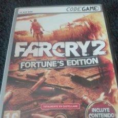 Videojuegos y Consolas: VIDEOJUEGO PC FARCRY 2 FORTUNE,S EDITION. Lote 127560483