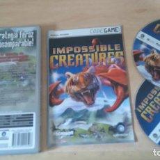 Videojuegos y Consolas: IMPOSSIBLE CREATURES. Lote 127567951