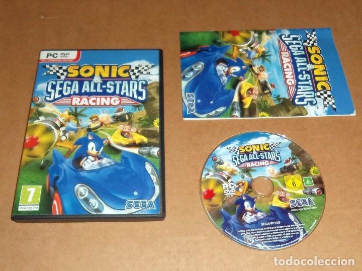 Sonic Sega All Stars Racing Juego Para Pc Comprar Videojuegos