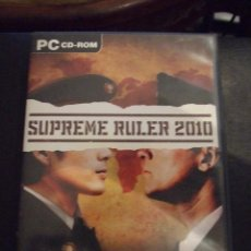 Videojuegos y Consolas: SUPREME RULER 2010 - BLACK BEAN 2005 - ESTRATEGIA - COMPLETO Y EN CASTELLANO. Lote 127780803