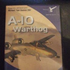 Videojuegos y Consolas: A 10 WARTHOG - AEROSOFT 2004 - SIMULADOR - COMPLETO Y EN CASTELLANO. Lote 127781543
